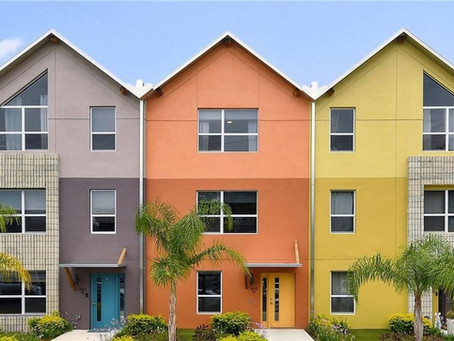 Amazing Contemporary Townhome in Colonialtown, Orlando Under $2,500