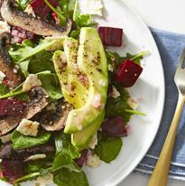 Beet Avo Salad