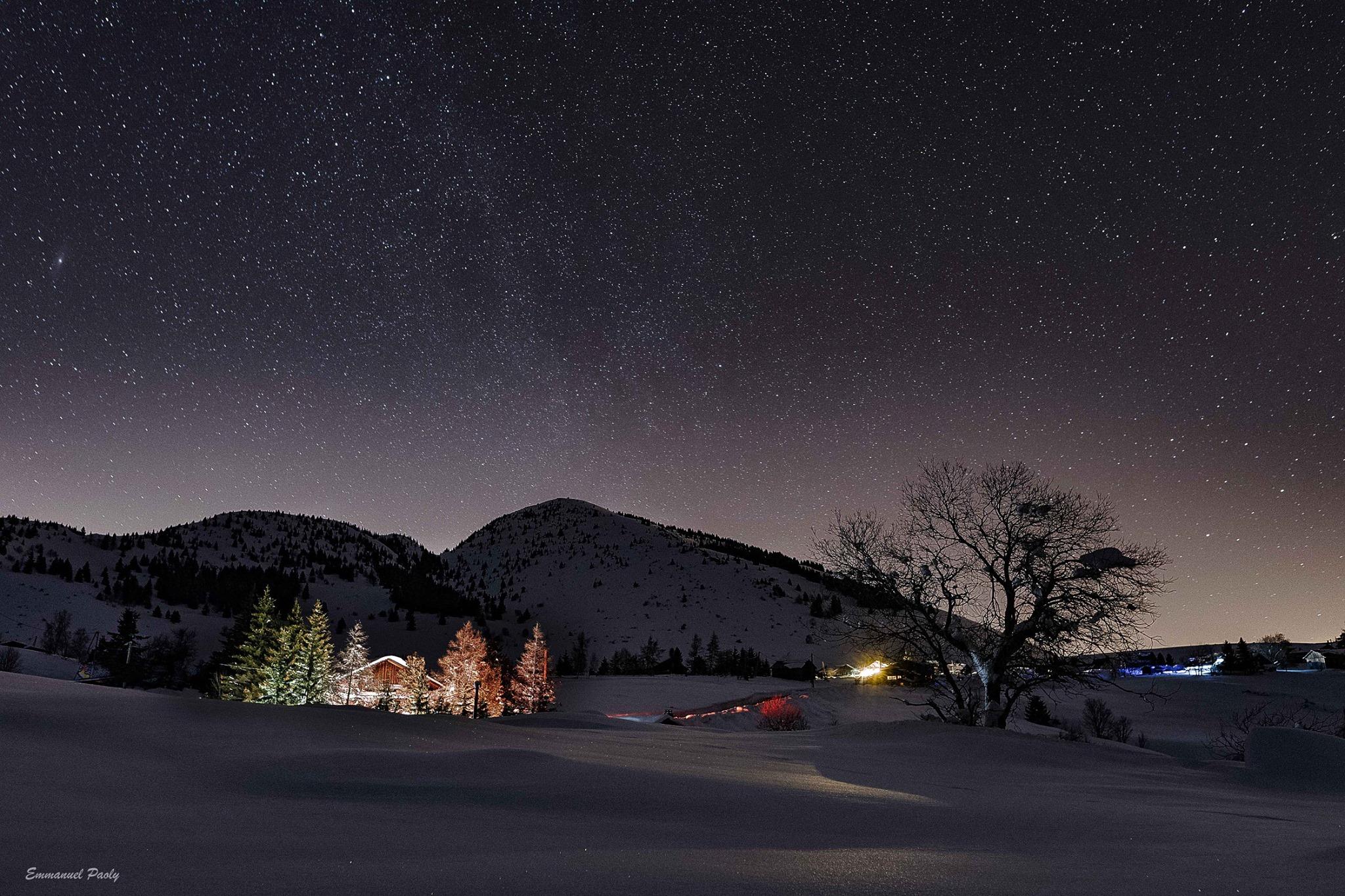 Nuit étoilée à soilaison