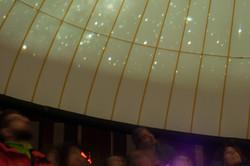 Sous le planetarium