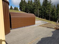 Tunnel des télescopes extérieurs