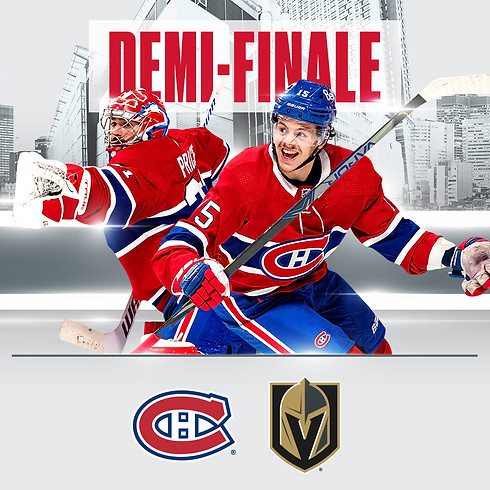 Canadiens vs Golden Knights - 3e tour