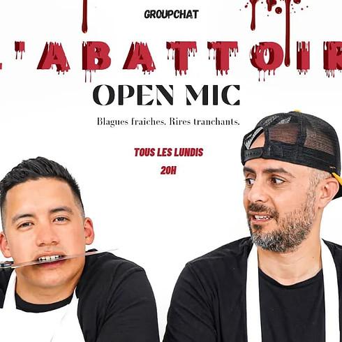 L'ABATTOIR - Open Mic