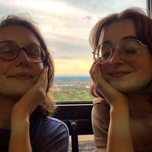 Duo Noémie Kaiser et Emmanuelle Sloutsker