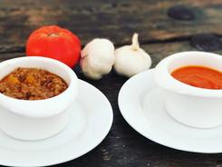 Tomato and Bolognese sau