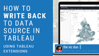 Writeback to data-source using Extensions - Tableau
