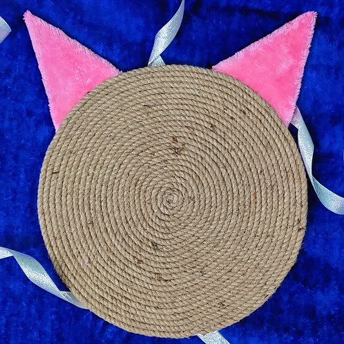 Cat Ears Shape Horizontal Scratcher