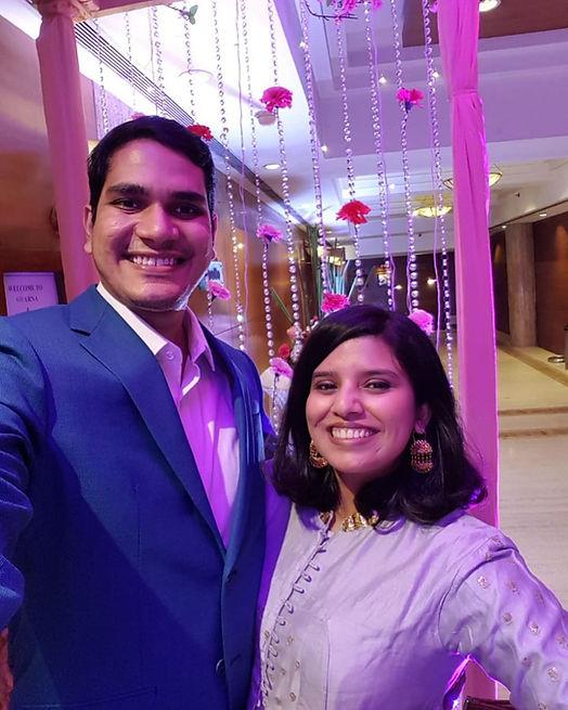 Chota Pakoda Founders and a married couple entrepreneur