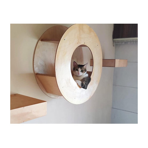 Cat Donut wall mount