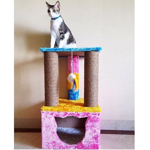 Truffle Cat Tower scratcher and condo