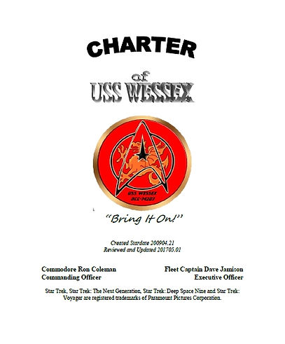 Charter of USS Wessex