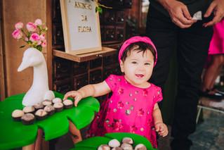 O primeiro ano da Flora | Fotografia de festa infantil em Brasília DF