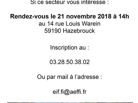 Tuyauteur industriel 21 novembre