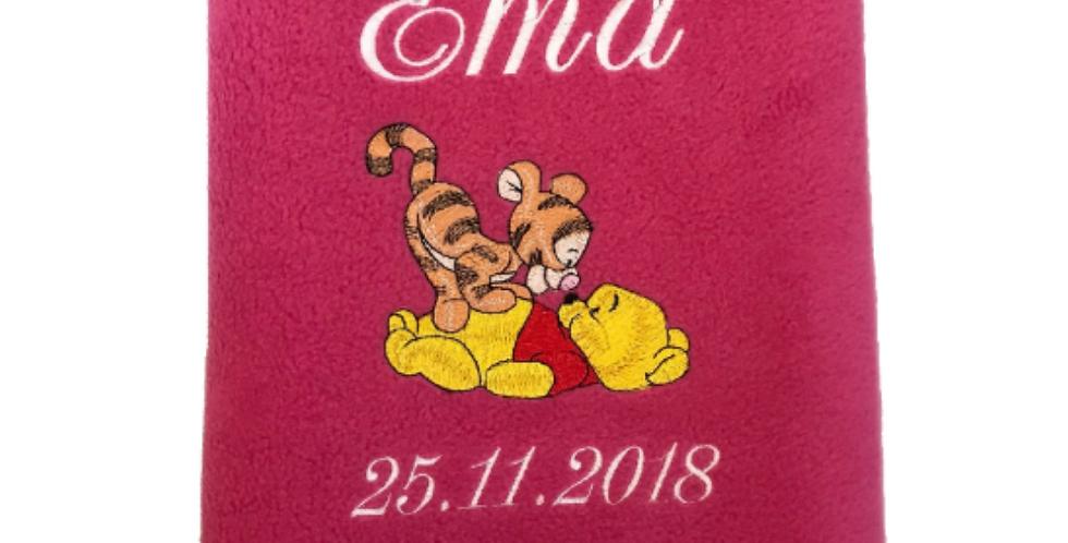 Odejica Pooh in tigerček
