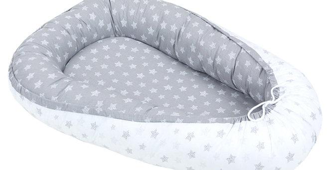 Gnezdece za dojenčka zvezdice siva