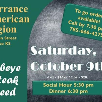 Dorrance American Legion Steak Feed