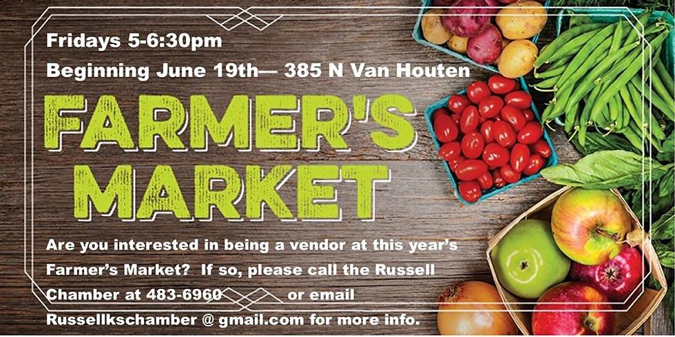 Russell Area Farmers Market