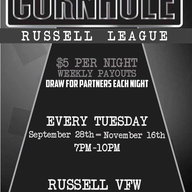 Russell League Cornhole