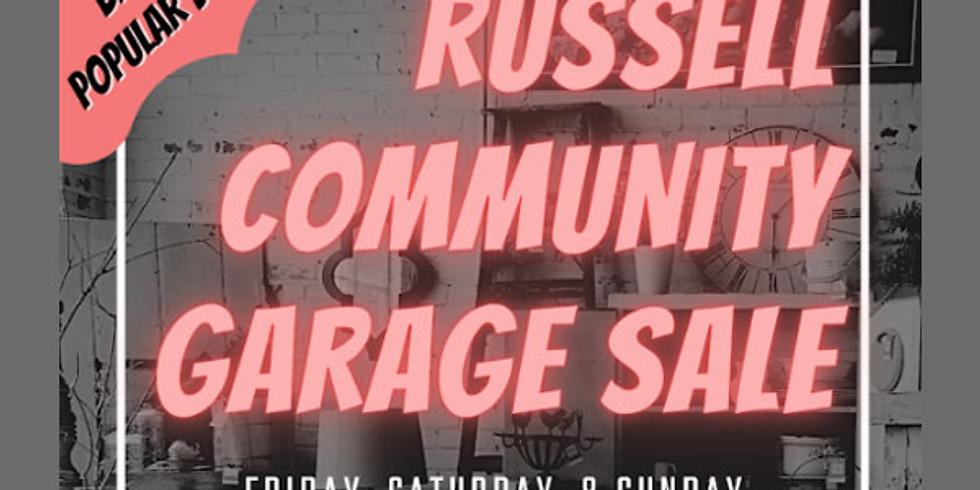 Russell Community Garage Sale