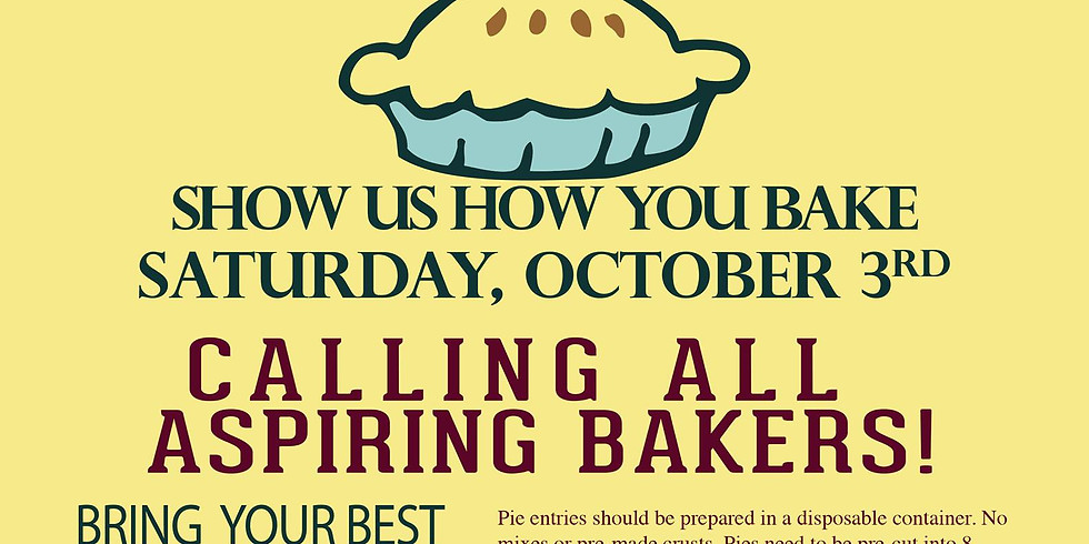 Russell's Pie Baking Contest