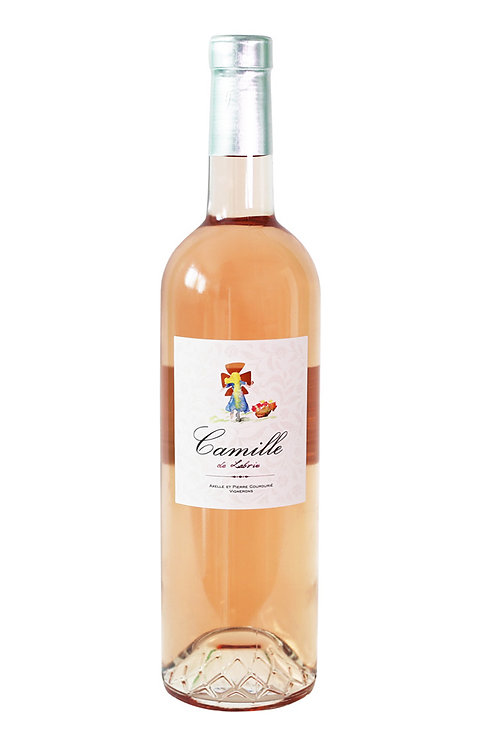 - Camille de Labrie rosé 2020 - Carton 6 bouteilles