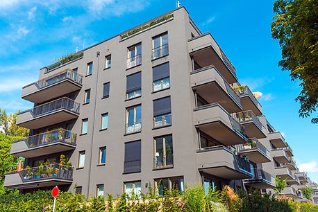 modern-grey-apartment-buildings-seen-in-