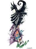 Batman VS Joker format A3
