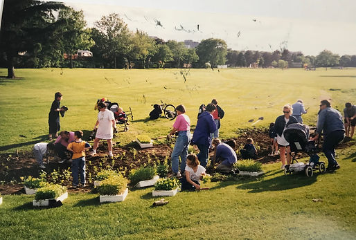 1998 Community Planting Day - Silver Creek Park