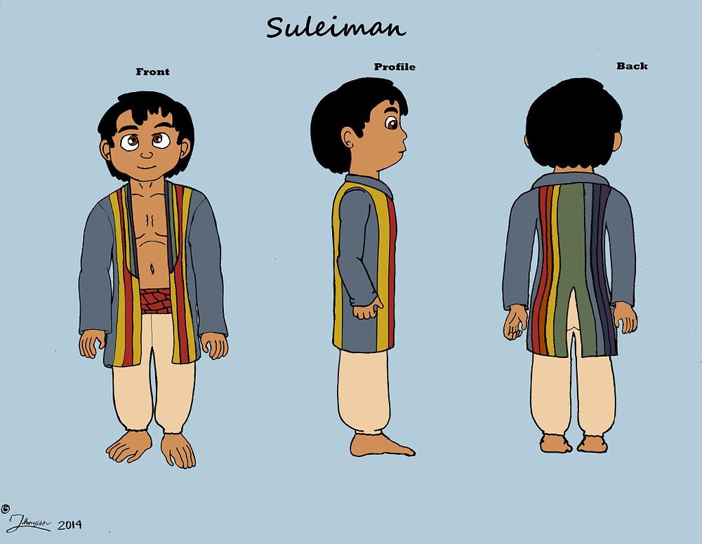 Suleiman Character Sheet