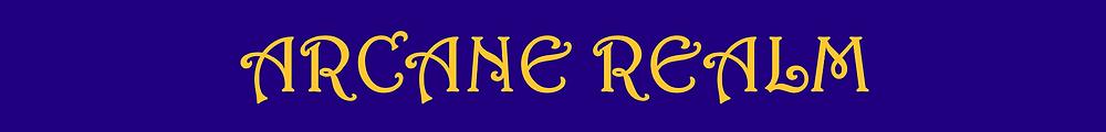 Arcane Realm Banner