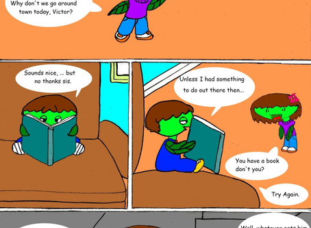Vanessa Fly Trap Comics: Get Out There