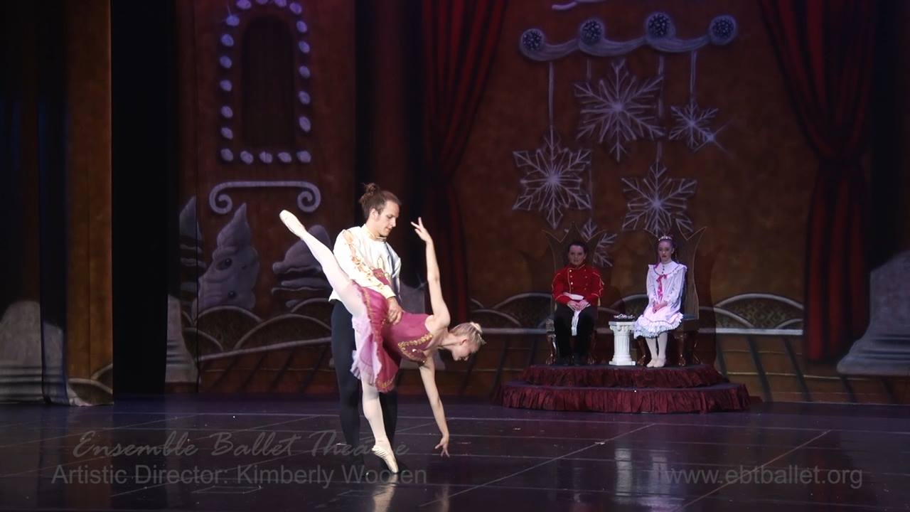 Sugar Plum and Cavalier Pas from 'The Nutcracker 2015' presented by Ensemble Ballet Theatre