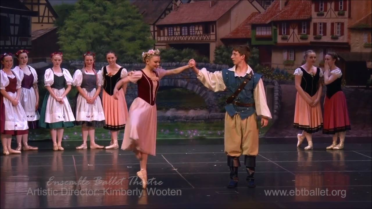 A scene from 'Rapunzel' presented by Ensemble Ballet Theatre