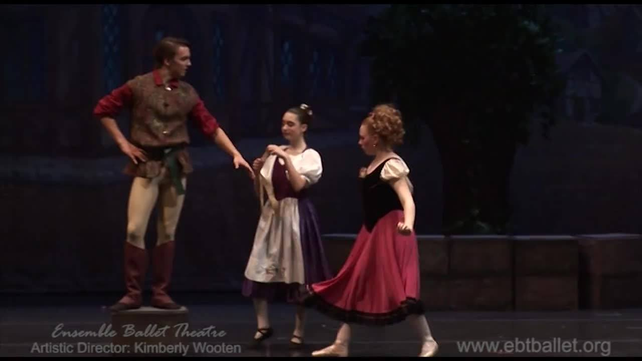 "A scene from  ""Beauty and the Beast' presented by Ensemble Ballet Theatre"