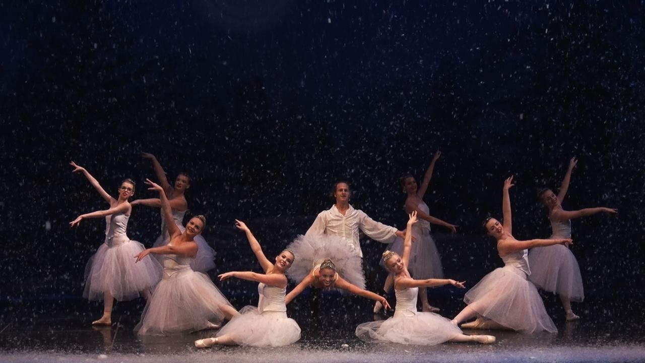 Snow from 'The Nutcracker 2015' presented by Ensemble Ballet Theatre  Artistic Director: Kimberly Wooten