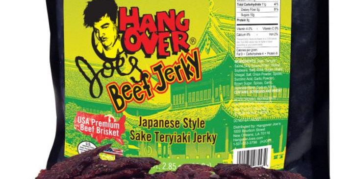 Sake Teriyaki Beef Jerky