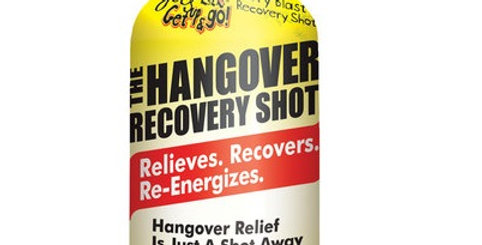 The Famous Hangover Recovery Shot