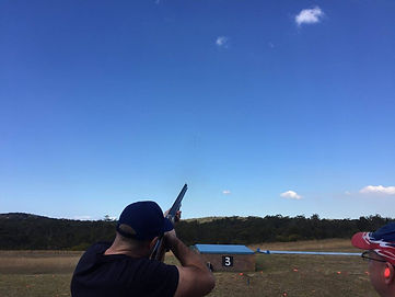 Bucks Party Clay Target Shooting