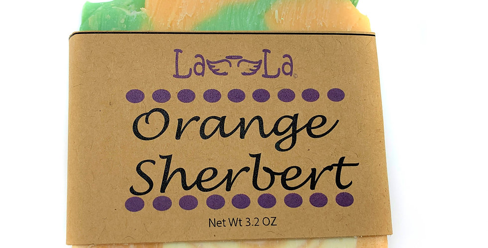 Orange Sherbert Soap