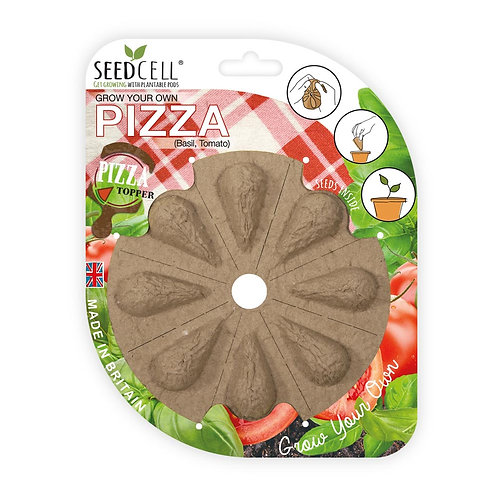 Grow Your Own Pizza Topper