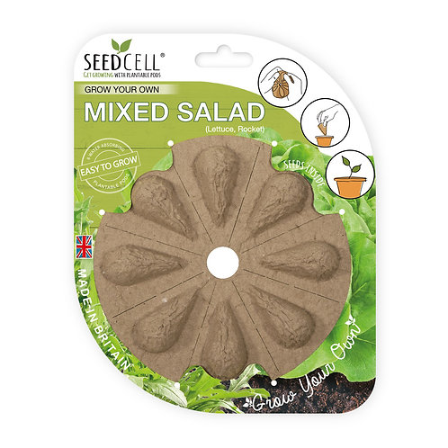 Grow Your Own Mixed Salad