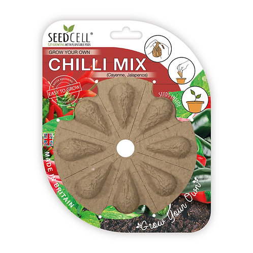 Grow Your Own Chilli Mix