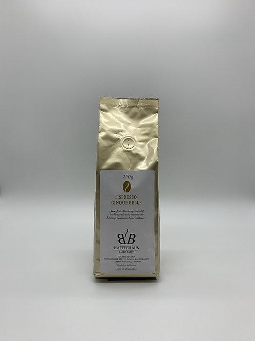 Espresso Cinque Belle