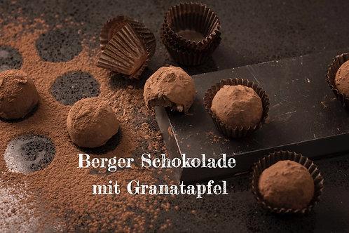 Berger Schokolade - Edelbitter Granatapfel gefüllt