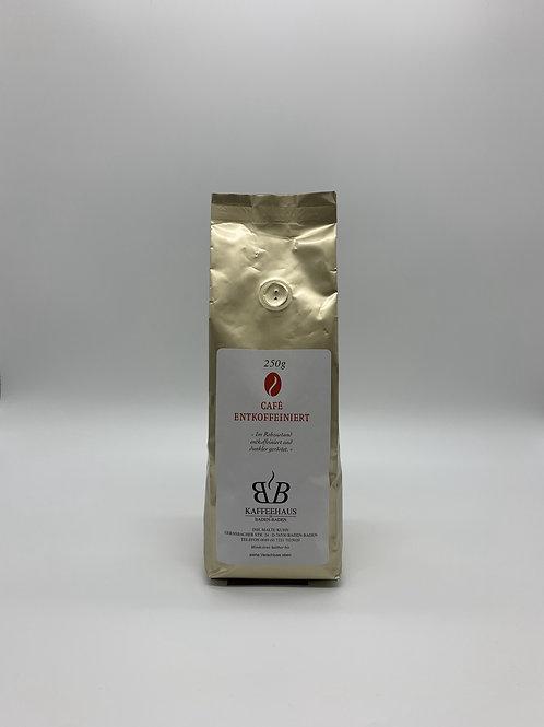 Café Entkoffeiniert