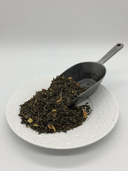 Grüner Tee mit Quitte
