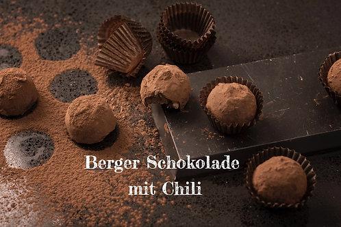 Berger Schokolade - Edelbitter Chili