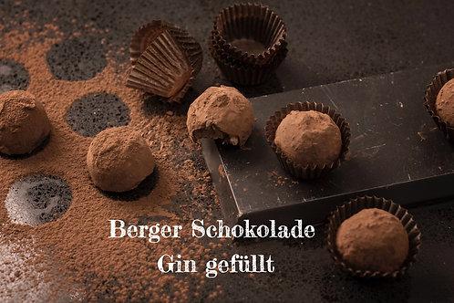 Berger Schokolade - Gin gefüllt
