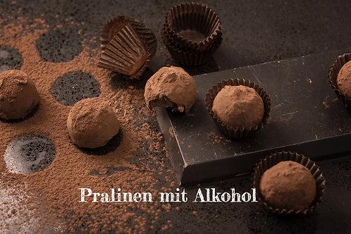 Handgemachte Pralinen von Coppeneur mit Alkohol