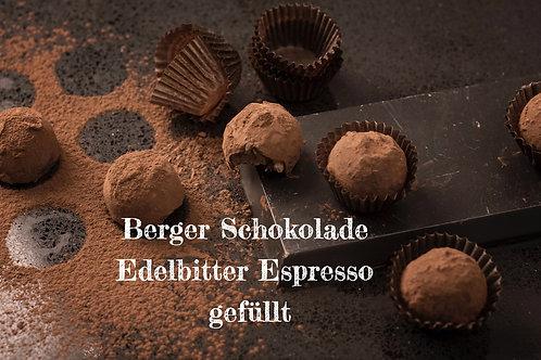 Berger Schokolade - Edelbitter Espresso gefüllt